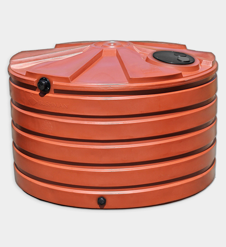 1110 Gallon Round Rainwater Harvesting Tank
