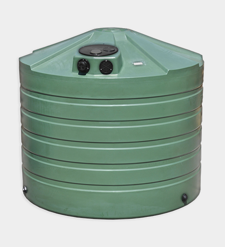 1320 Gallon Round Rainwater Harvesting Tank