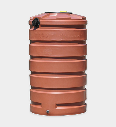 205 Gallon Round Rainwater Harvesting Tank