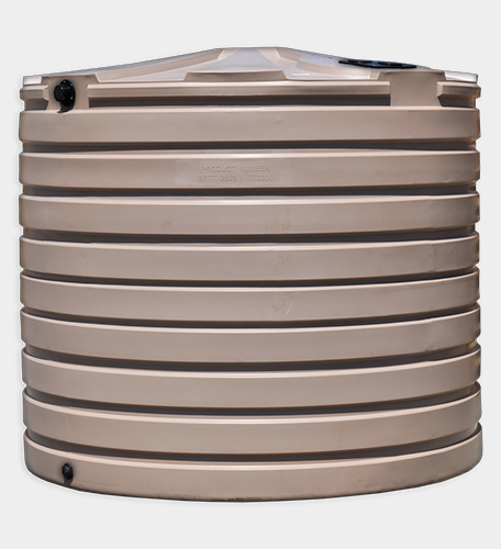 2825 Gallon Round Rainwater Harvesting Tank