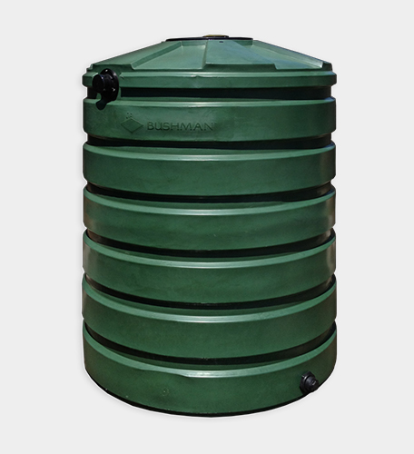 420 Gallon Round Rainwater Harvesting Tank