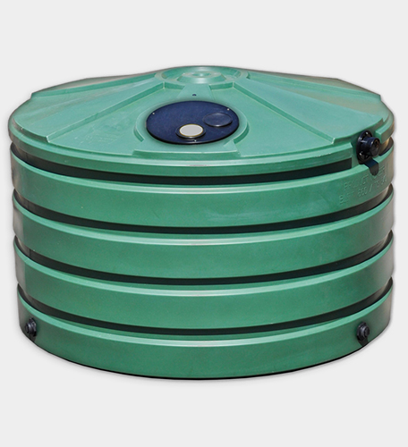 660 Gallon Round Rainwater Harvesting Tank