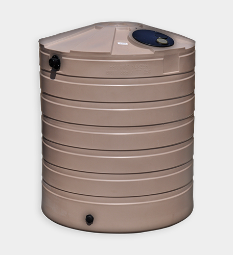 865 Gallon Round Rainwater Harvesting Tank