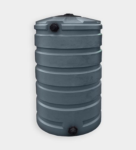 205 Gallon Round Water Storage Tank