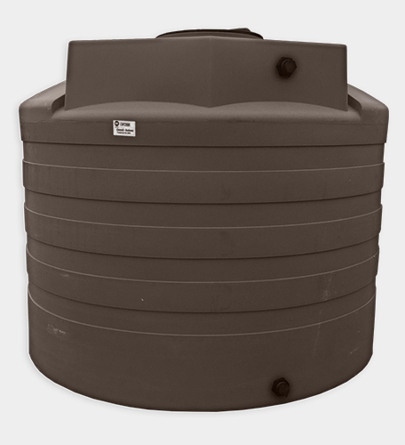 2650 Gallon Round Water Storage Tank